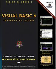 Visual Basic 6 Interactive Course Book and CD Unused