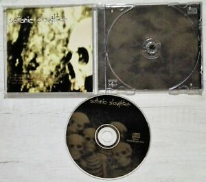 SATANIC SLAUGHTER - SATANIC SLAUGHTER CD NECROPOLIS 1995. OPETH SEANCE WITCHERY