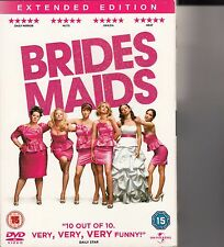 BRIDESMAIDS DVD EXTENDED EDITION - NEW SEALED - REGION PAL 2 UK AND EUROPE ONLY
