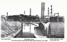 Old Willesden Postcard - Scrubbs Lane - Canal and West London Railway 1925  P755