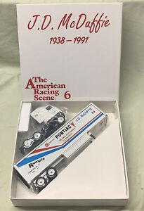 Winross The American Racing Scene Issue #6 J D McDuffie #20 Pontiac Trailer