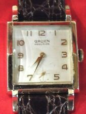 Vintage Gruen Precision 10 Kt G.F. Watch