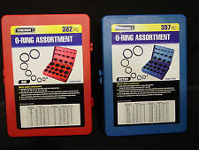 SAE & Metric Rubber O-Ring Washer Assortment Kit Automotive Storage Case ORing