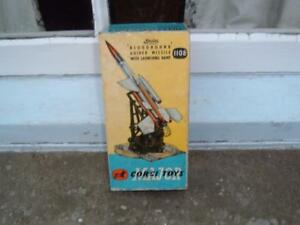 CORGI TOYS 1108 BRISTOL BLOODHOUND GUIDED MISSILE WITH LAUNCHING RAMP EMPTY BOX