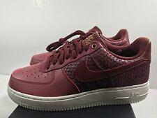 12457be4943c NIKE AIR FORCE 1  07 LV8 Men s SHOES PORT DARK TEAM RED 823511 602 Size
