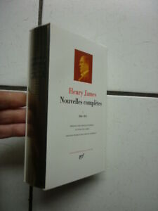 PLEIADE / HENRY  JAMES    / NOUVELLES   COMPLETES I  /  2003