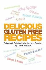 Delicious Gluten Free Recipes by Diana Johnson (2016, Hardcover)