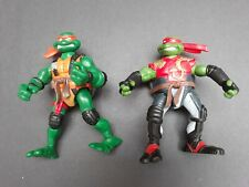 Teenage Mutant Ninja Turtles TMNT Action Figures 2005 Playmates Lot Of 2