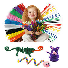 50pcs DIY Handmade Educational Shilly Stick Plush Materials Toys For Baby kids