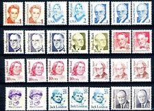 Set 29 Different Great Americans VARIETIES - See Listing for Scott Numbers