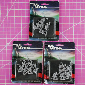 Classic Ral Partha Ratlings (3 Packs!) - Dungeons & Dragons AD&D Ratling Command