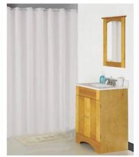 "Homebasix Xg-02-Wh Hookless Shower Curtain, White, 70"" x 72"""
