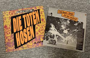 Die Toten Hosen - Live LP Vinyl