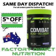 MusclePharm Combat BCAA Recovery Blue Raspberry or Fruit Punch 480 g Fast Post