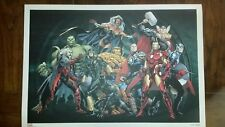 LITHOGRAPHIE MARVEL HEROES - PANINI COMICS
