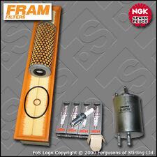 SERVICE KIT MERCEDES C230K W203 2.3 16V FRAM OIL AIR FUEL FILTER PLUG (2001-2002