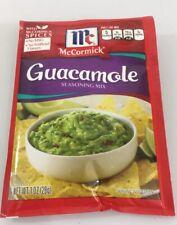 Mccormick Guacamole Seasoning Mix 1 OZ Discontinued Fast Shipping