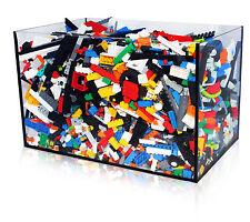1,1 KG Lego ca. 750 Teile 1 Kilo Ware Basic Steine Räder Platten Technic Figuren
