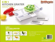 6 IN 1 MULTI WONDER SLICER GRATER VEGETABLE FRUIT DICER CUTTER CHOPPER JUICER