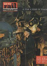 la vie du rail  N°847 du 20 mai 1962 le tour a roues de toulouse