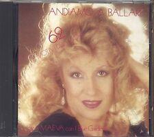 MAEVA E I BLUE GARDENIA - Andiamo a ballare - CD 1991 COME NUOVO UNPLAYED