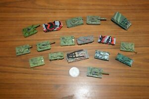 Micro machines bundle ~ 17 Military Vehicles, Tanks, Rocket Launcher, Recovery