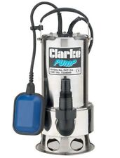 Water pump Max flow rate 258 l/min Clarke Stainless Steel Dirty Submersible Pump