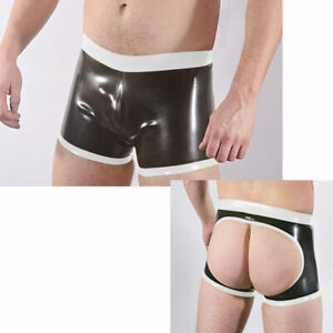 Special offer latex gummi rubber pants catsuit ganzanzug beach casual holiday
