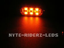 RED 5050 SMD LED ADD  ON POD 6 LEDS ON EACH POD CARS SUVS MOTORCYCLES TRUCKS