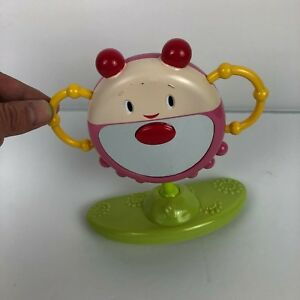 Bright Starts Pink Baby Girl Bounce a Round Replacement Mirror w/ Sounds
