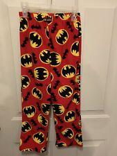 Batman Fleece Pajama Pants Boys 8