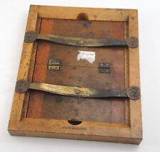 * Scovill * Wood / Wooden Contact Printer / Printing Print Frame - 6 1/4 x 8 1/4