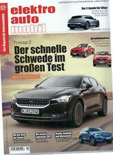 EAM elektro auto mobil 04/2021 Opel Mokka-e Audi Q4 e-tron BMW iX Kia EV6 EQA250