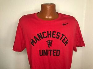 Men's Nike Manchester United DRI-FIT S/S T-Shirt Sz Extra Large (XL)
