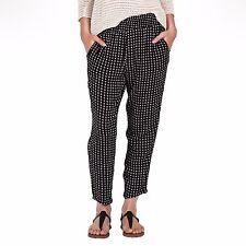 2016 NWT WOMENS VOLCOM ROADTRIP MIX PANTS $45 S black w/ white