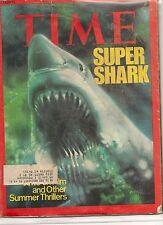 Time Magazine June 23, 1975 Super Shark Jaws