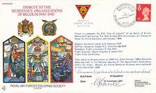 ES40b Tribute Resistance Organizations of Belgium 1940 to 1945 Signed Escaper