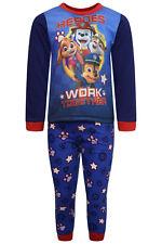 Chicos Paw Patrol Chase Pijamas Pijama Pijama manga larga 100% algodón Pijama BNWT