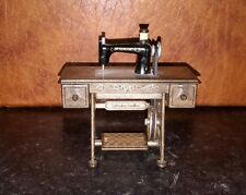 Sylvanian Families Vintage Sewing Machine With Accessories Dolls House RARE