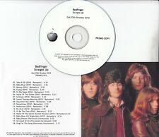 BADFINGER Straight Up 2010 UK Apple remastered 18-track promo test CD