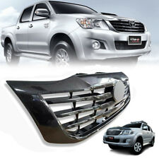 FRONT GRILL GRILLE CARBON BLACK FIT FOR TOYOTA HILUX VIGO CHAMP MK7 12 13 14