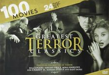 100 Greatest Terror Classics: Bela Lugosi - Vincent Price - Boris Karloff - Lon