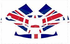 3M Speedglas 9100 Fx Auto Sw Jig Schweißen Abziehbild United Kingdom UK Flagge