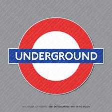 Metro de Londres Pegatina Calcomanía-Coche-Laptop-Macbook Notebook - 2938