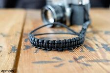 Camera Wrist Strap – Black / Black Clip - apmots Paracord Sling Mirrorless DSLR