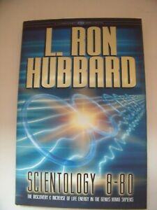 SCIENTOLOGY 8-80 by L. RON HUBBARD HARDBACK