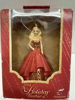 "1995 /""Barbie by BOB MACKIE/"" Queen of Hearts Ornament NIB"