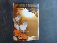 2005 BEQUIA FLOWERS OF THE CARIBBEAN ORCHID STAMP MINI SHEET MNH