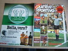 GUERIN SPORTIVO=N°12 1978 LXVI=TUTTOCOPPE=JEFFERSON AIRPLANE=FILM DEL CAMPIONATO