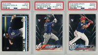 Acuna Soto Tatis 2018 Topps Black RC PSA 10 Lot    -Three Amigos-